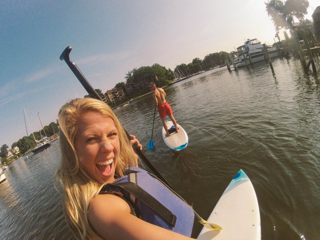 Paddle Boarding East Port