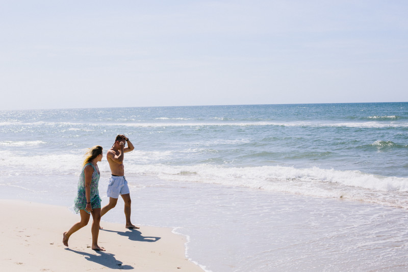 Ben and Carrie in Hatteras